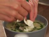 Бобена супа с праз и тиквички 5