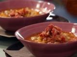 Зелева супа с боб и рагу