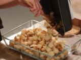 Пилешки дробчета с карамелизиран праз лук 4
