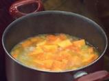 Супа от тиква с пъдпъдъчи яйца 2