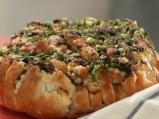 Хляб с гъби и сирене
