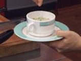 Супа от целина с канапе от пушено сирене 4