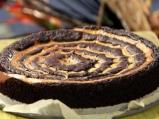 Шоколадов кейк с паяжина