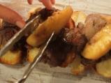 Брускети с пилешки дробчета и ябълки 5