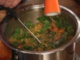 Мексиканска супа от червена леща 3