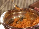 Кюфтета от моркови със сос от копър 2