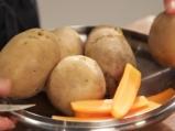 Картофени бонбони с риба тон
