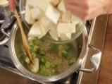 Супа от целина със синьо сирене 2