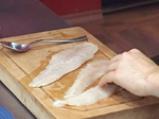 Риба хек със зелен сос 2