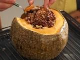 Пълнена тиква с ориз и сушени плодове 5
