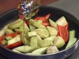 Пълнена пита със зеленчуци по селски 2
