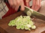 Гарнитура от зеленчуци със свински кокали 3