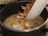 Супа с пуешко и гъби 5