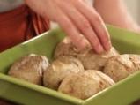 Запечени картофи с праз и моцарела