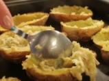 Запечени картофи с праз и моцарела 5