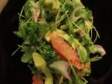Цитрусова салата с авокадо 4