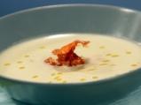 Супа от целина със сметана и бекон