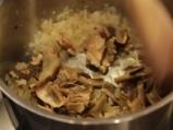 Качамак със сос от манатарки и сметана  8