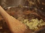 Качамак със сос от манатарки и сметана  9