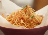 Пържени картофи с лимонова сол и розм...