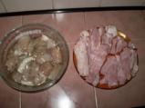 Пилешки шишчета от филе с бекон