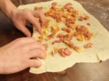 Рула от тесто с агнешко на пара 5