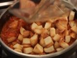 Пилешка яхния с препечен хляб 4