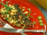 Торта от тиквички със спанак
