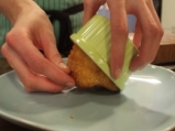 Обърнат портокалов кейк 6