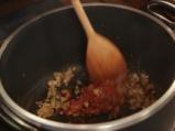 Печена супа с домати и хляб 2