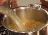Пилешка супа с бяло вино 5