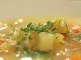 Пилешка супа с бяло вино 6