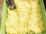 Царевичен кейк с праз и сирене 4