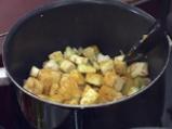 Къри пай с картофи и патладжани 2