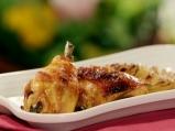 Печени пилешки бутчета, мариновани в ...
