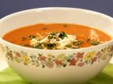 Доматена супа с нахут