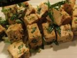 Тофу на тиган със зелен лук 4