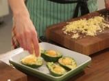 Печено авокадо с яйца и сирене гауда 2