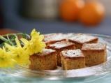 Царевичен кейк с мед и лимони