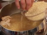 Гръцка пилешка супа 2