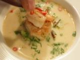 Супа с кокосово мляко и скариди  9