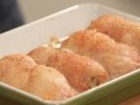 Пълнени пилешки рула с цветна салата 8