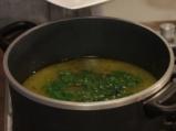 Спаначена супа с шафран 5