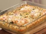 Пиле с ориз и коприва на фурна 6