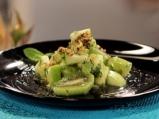 Зелена плодова салата