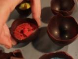 Шоколадови яйца с крем 2