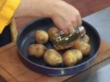 Печени картофи с фондю