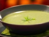 Студена крем супа от тиквички с кисел...