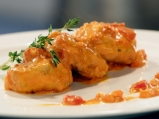 Кюфтета от риба с доматен сос
