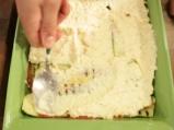 Лазаня от тиквички с три вида сирена 6